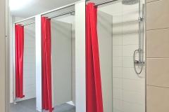 Pension Strem - Etagen-Duschen