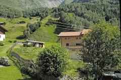 Pension Strem - Aussicht auf neue Bergstation